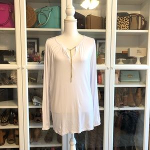 Michael Kors Tunic with Chain Neck Tie Detail